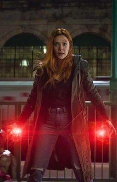 The Scarlet Witch - Elizabeth Olsen - Avengers - Marvel