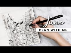 PLAN WITH ME | October 2017 Bullet Journal Setup - YouTube