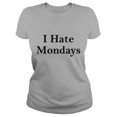 i hate mondays Caps #gift #ideas #Popular #Everything #Videos #Shop #Animals #pets #Architecture #Art #Cars #motorcycles #Celebrities #DIY #crafts #Design #Education #Entertainment #Food #drink #Gardening #Geek #Hair #beauty #Health #fitness #History #Hol https://www.musclesaurus.com