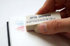 Ластиком можно стирать не только рисунки в тетради
