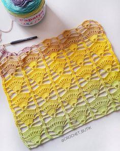 Borde, puntilla o orilla tejida a crochet para colchitas o mantitas para bebe paso a paso