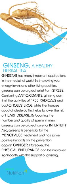 Ginseng has many important applications in the medicinal world...
