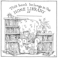 Good Books For Young Souls: FUN (FREE!) BOOKPLATES TO PERSONALIZE YOUR CHILD'S HOME LIBRARY