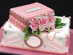 Victorias Secret cake for lingerie shower!