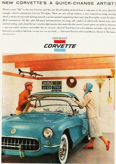 1956 Chevrolet Corvette Ad
