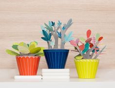 Port-a-Plant! Finally, a paper plant you can't kill. Great Q with the industrial designer/paper engineer