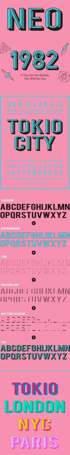 NEO TYPEFACE on Typography Served: