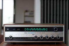 Akai AA-6600 Vintage hi fi stereo equipment receivers
