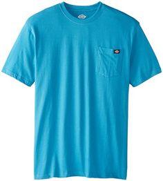 Dickies Men's Short Sleeve Pocket Tee, Blue Jay, Large Dickies http://www.amazon.com/dp/B008YCRAY0/ref=cm_sw_r_pi_dp_t-FSvb1X2EVDY