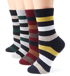 MIRMARU M101-Women's Winter 4 Pairs Wool Blend Crew Socks... https://www.amazon.com/dp/B01IUE3M84/ref=cm_sw_r_pi_awdb_x_pO7kybK6889RT