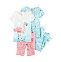 Carter's® Girls' Flamingo Pajama Set