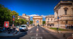 Rue Foch, Montpellier, Hérault, Languedoc-Roussillon, France