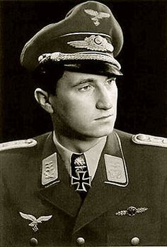 5. Walter Nowotny (258) - Luftwaffe