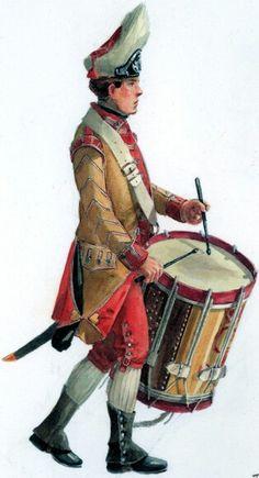 Drummer 40th regiment