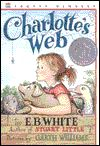 Charlotte's Web by E.B. White. Such a classic, she read this for school. I love the original Garth Williams illustrations, and the way it doesn't hold back showing kids the true nature of life on the farm -- and in the real world. (Read in 2nd grade.)