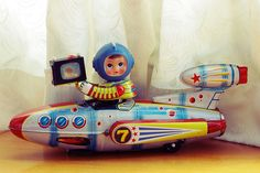 tin toys made in china | Made in China in 1970 / a real secondhand tin toy | Flickr - Photo ...