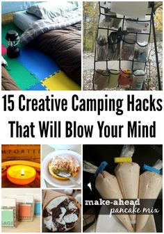 Creative Camping Hacks That Will Blow Your Mind DIY Inspired