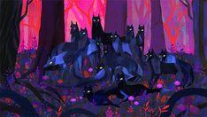 Dreamy & Fantastic Forest Illustrations – Fubiz Media