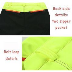 Mens Outdoor Sport Pants Elastic Soft Shell Warm Fleece Lined Vivid Color Waterproof Trouser