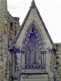 At St Andrews, Scotland cemetery
