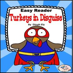 Thanksgiving Activities - Turkeys in Disguise - Mini Book