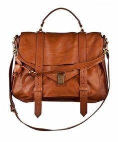 ca99ad4e4de Proenza Schouler PS1 Extra Large (Color: Saddle) Ps1 Bag, Brown Leather  Purses