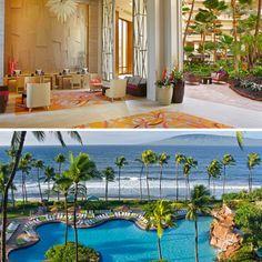 The Hyatt Regency in Maui.