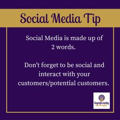 Here is a useful social media tip!