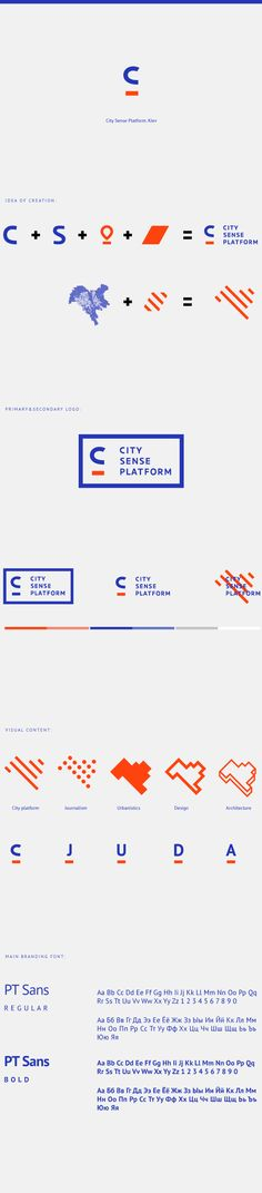 City Sense Platform on Behance