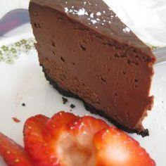 Dark Chocolate Cheesecake - Gluten Free