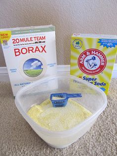 Homemade Laundry Detergent Tutorial - SO easy and cheap! (And smells great too!)