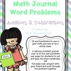 Included in this file are 15 different addition and subtraction word problems. All problems have either a bonus question (extending on the original...