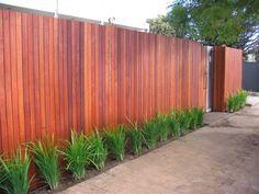 Outdoor Inspiration - Fences - Merbau Fencing - Taylor Fencing - Australia   hipages.com.au