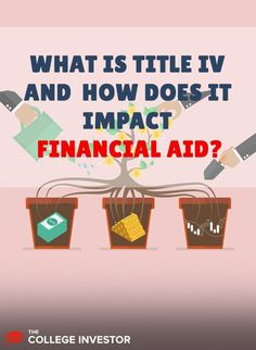If you want financial aid for school, your school must be accredited under Title IV. Federal Student Loans, Student Loan Debt, Student Loan Forgiveness, Financial Statement, Financial Institutions, I School, Make More Money, Higher Education