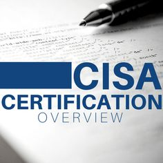 Cisa certification template cisa pinterest learn all about the cisa certification fandeluxe Image collections
