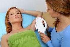 skuteczna depilacja laserem pach