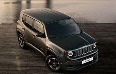 Jeep Renegade, carbon black