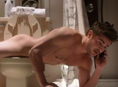 Zac Efron planking on the toilet, my favorite part of the 2014 movie That Awkward Moment