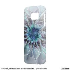Flourish, abstract and modern Fractal Art Samsung Galaxy S7 Case