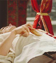 my gifs Bradley James Arthur Pendragon Merlin arthur king arthur