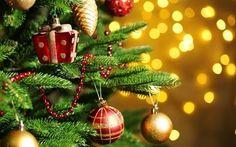 Scarica sfondi albero, giocattoli, anno nuovo