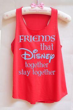 Flock Friends that disney together stay together  - Disney shirt,Disney tank top,Princess shirt,Princess tank top,Christmas shirt,birthday by RainbowTank on Etsy https://www.etsy.com/listing/497629611/flock-friends-that-disney-together-stay