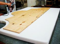 how to build a fabric headboard for a bed | ... Blog Archive » Make Your Own Upholstered Headboard for Under $100