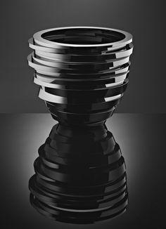 Anna Torfs | Harlequin London Vase Parts Low in black