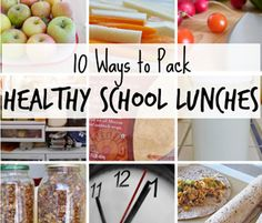 10 Tips for Packing Healthy School Lunches - http://brushflossandmouthwash.com/10-tips-will-improve-childs-oral-health/