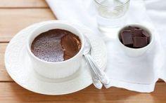 Budino al cioccolato e zenzero