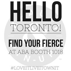 We're getting FIERCE in #Toronto @abacanada! Visit us at Booth 1018 for beautiful hair that can take you anywhere and learn all about our A List ingredients and of course see #TheIron in action. Tag your snaps #LoveItLiveItOwnIt so we can follow along with your hair adventures. #abatoronto #torontoaba #beautyandpinups