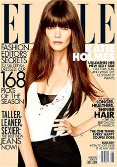 Confident Katie Holmes not a 'little girl' anymore - TODAY Entertainment (ELLE)