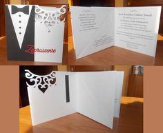 Zaproszenie na ślub, Więcej na www.facebook.com/pracownialagutko