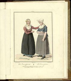 De zamenspraak - Afbeeldingen van de kleeding, zeden en gewoonten..., 1803